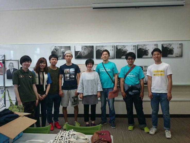 第七回関西大学堺キャンパス祭にてリユース&リサイクル
